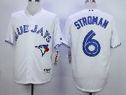 Mens Mlb Toronto Blue Jays #6 Stroman White (2012) Jersey