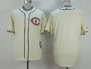 Mens Mlb Chicago Cubs (blank) Cream White 1929 New Throwbacks Jersey