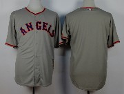 Mens Mlb Los Angeles Angels (blank) Gray 1980 Throwbacks Jersey