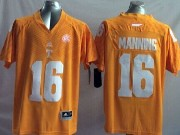 Mens Ncaa Nfl Tennessee Volunteers #16 Manning Orange Jersey Gz