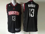 Mens Nba Houston Rockets #13 Harden Black (2016 New) Jersey