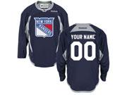 Nhl New York Rangers (custom Made) Dark Blue (2015 New Train) Jersey
