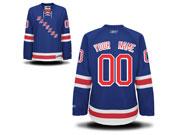 Women Nhl New York Rangers (custom Made) Light Blue Jersey