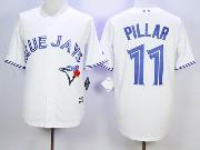 Mens Mlb Toronto Blue Jays #11 Pillar White Jersey