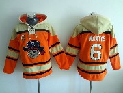 Mens Mlb Pittsburgh Pirates #6 Martie Orange Hoodie Jersey