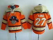 Mens Mlb Pittsburgh Pirates #27 Kang Orange Hoodie Jersey