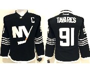 Women Reebok Nhl New York Islanders #91 Tavares Black Jersey