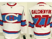 Youth Reebok Nhl Montreal Canadiens #27 Galchenyuk White 2016 Winter Classic Jersey
