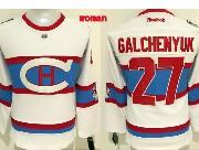 Women Reebok Nhl Montreal Canadiens #27 Galchenyuk White 2016 Winter Classic Jersey