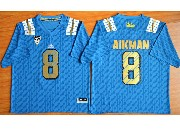 Mens Ncaa Nfl Ucla Bruins #8 Aikman Light Blue Jersey