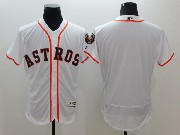 mens majestic houston astros blank white Flex Base jersey