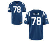 Mens Nfl Indianapolis Colts #78 Ryan Kelly Blue Elite Jersey