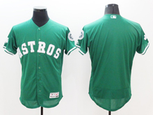 mens majestic houston astros blank green Flex Base jersey