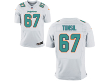 Mens Nfl Miami Dolphins #67 Laremy Tunsil White Elite Jersey