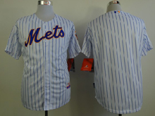 Mens mlb new york (blank) white (blue strip) Jersey
