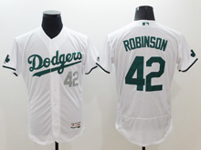 mens majestic los angeles dodgers #42 ackie robinson white 2016 new Flex Base jersey