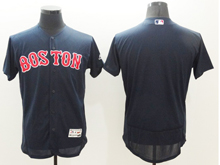 mens majestic boston red sox blank navy blue Flex Base jersey