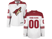 Women Nhl Arizona Coyotes (custom Made) White Jersey