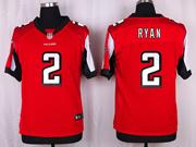 Mens Nfl Atlanta Falcons #2 Ryan Red Elite Jersey