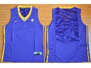 Youth Ncaa Nba Lsu Tigers Blank Purple Basketball Elite Jersey