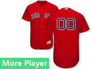 Mens Majestic Boston Red Sox Red Flex Base Current Player Jersey