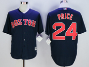Mens Mlb Boston Red Sox #24 David Price Navy Blue Cool Base Jersey