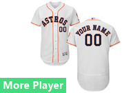 Mens Majestic Houston Astros White Flex Base Current Player Jersey