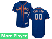 Mens Majestic New York Mets Blue Flex Base Current Player Jersey New York