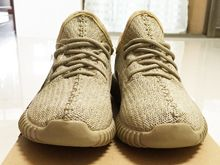 Adidas Yeezy Boots 350 Kanye West Running Shoes Color Gold
