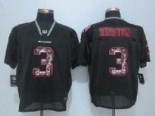 Mens Nfl Tampa Bay Buccaneers #3 Jameis Winston Black 2014 Lights Out Elite Jerseys