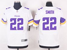 Mens Nfl Minnesota Vikings #22 Harrison Smith White Elite Jersey