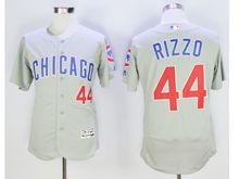 mens majestic chicago cubs #44 anthony rizzo gray Flex Base jersey
