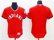 mens majestic cleveland indians blank gray pullover Flex Base jersey