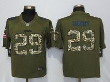 Mens Nfl Kansas City Chiefs #29 Eric Berry Green Salute To Service Limited Jersey