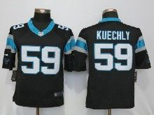 Mens Nfl   Carolina Panthers #59 Luke Kuechly Black Limited Jerseys