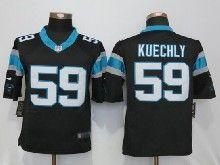 Mens Nfl   Carolina Panthers #59 Luke Kuechly Black Limited Jerseys