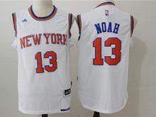 Mens Nba New York Knicks #13 Joakim Noah White Jersey