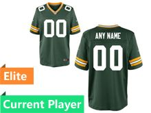Mens Green Bay Packers Green Elite Current Player Jersey