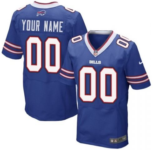 Mens Buffalo Bills Blue Elite Current Player Jersey