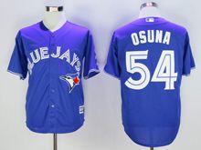 Mens Mlb Toronto Blue Jays #54 Roberto Osuna Blue Cool Base Jersey