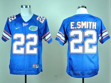 Mens Ncaa Nfl Florida Gators Custom Made Blue Elite Jersey