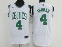 Mens Nba Boston Celtics #4 Isaiah Thomas White Jersey