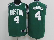 Mens Nba Boston Celtics #4 Isaiah Thomas Green Jersey