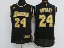 Mens Nba Los Angeles Lakers #24 Kobe Bryant Black (golden) Jersey