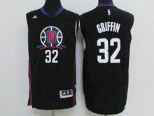 Mens Nba Los Angeles Clippers #32 Blake Griffin Black 2016 New Jersey