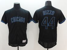 mens majestic chicago cubs #44 anthony rizzo navy blue Flex Base jersey