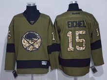 Mens Nhl Buffalo Sabres #15 Jack Eichel Green Jersey