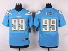 Mens Nfl San Diego Chargers #99 Joey Bosa Light Blue Elite Alternate Jersey
