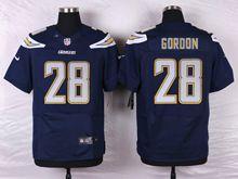 Mens Nfl   San Diego Chargers #28 Melvin Gordon Navy Blue Elite Jersey
