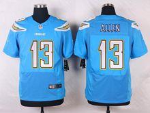 Mens Nfl  Los Angeles Chargers #13 Keenan Allen Light Blue Elite Nike Jersey